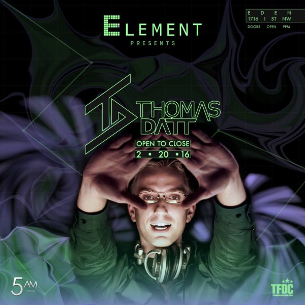 Thomas Datt Trance DC Element Events
